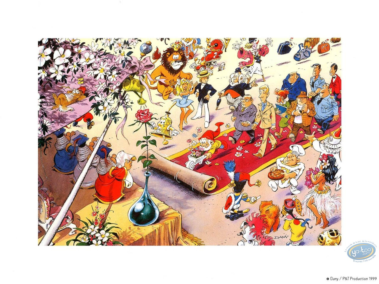 Affiche Offset, Olivier Rameau : Le tapis rouge