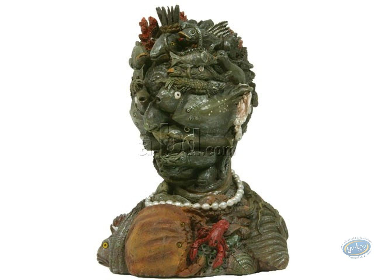 Statuette résine, Tableaux en 3D : Arcimboldo - Eau