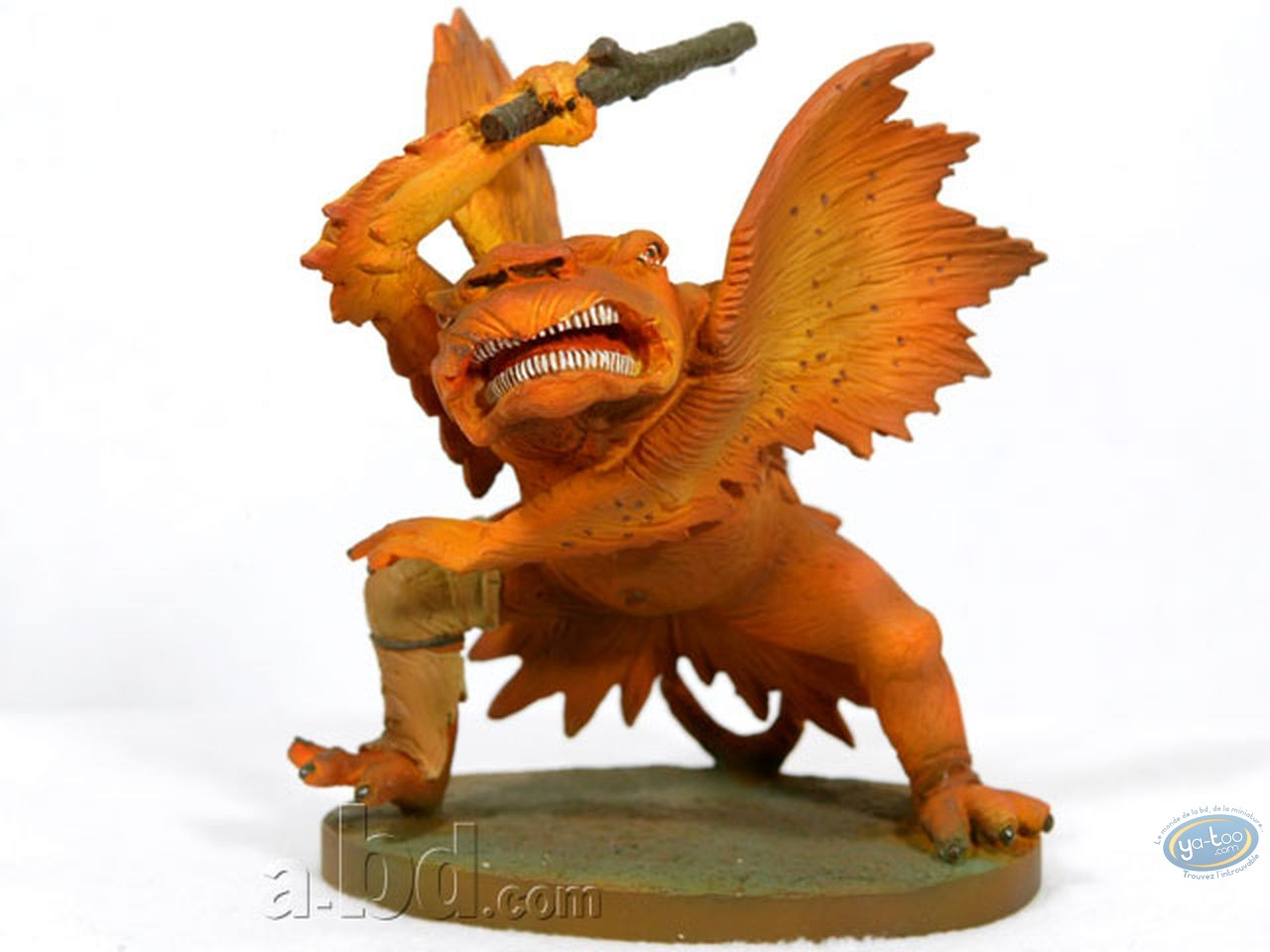 Statuette résine, Tableaux en 3D : Matthias Grünewald - Monstre avec gourdin