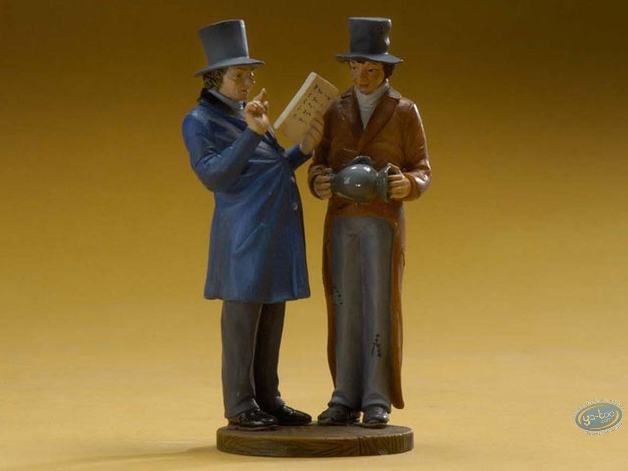 Statuette résine, Tableaux en 3D : Huissier