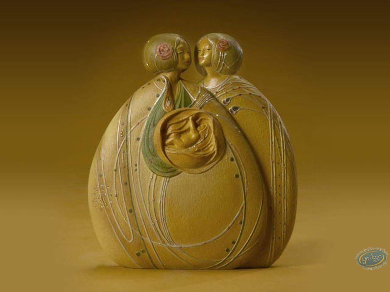 Statuette résine, Tableaux en 3D : Mackintosh - The Heart of the Rose