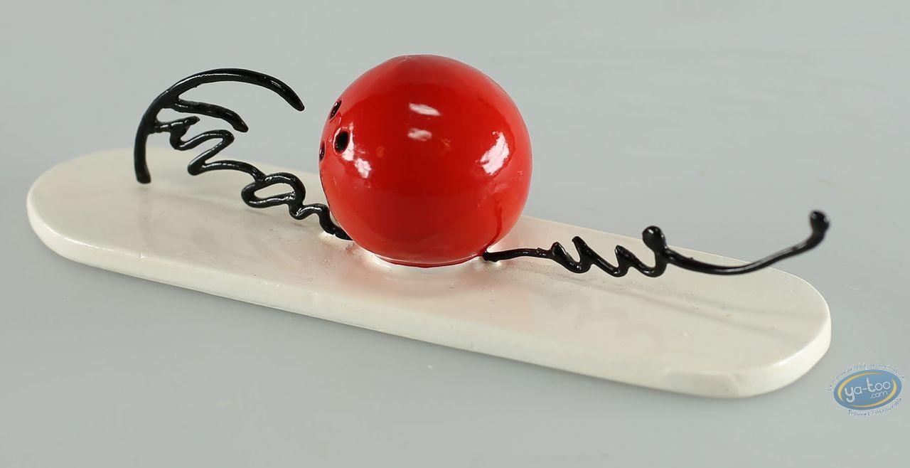 Figurine métal, Signatures de Franquin (Les) : Boule de bowling, Pixi