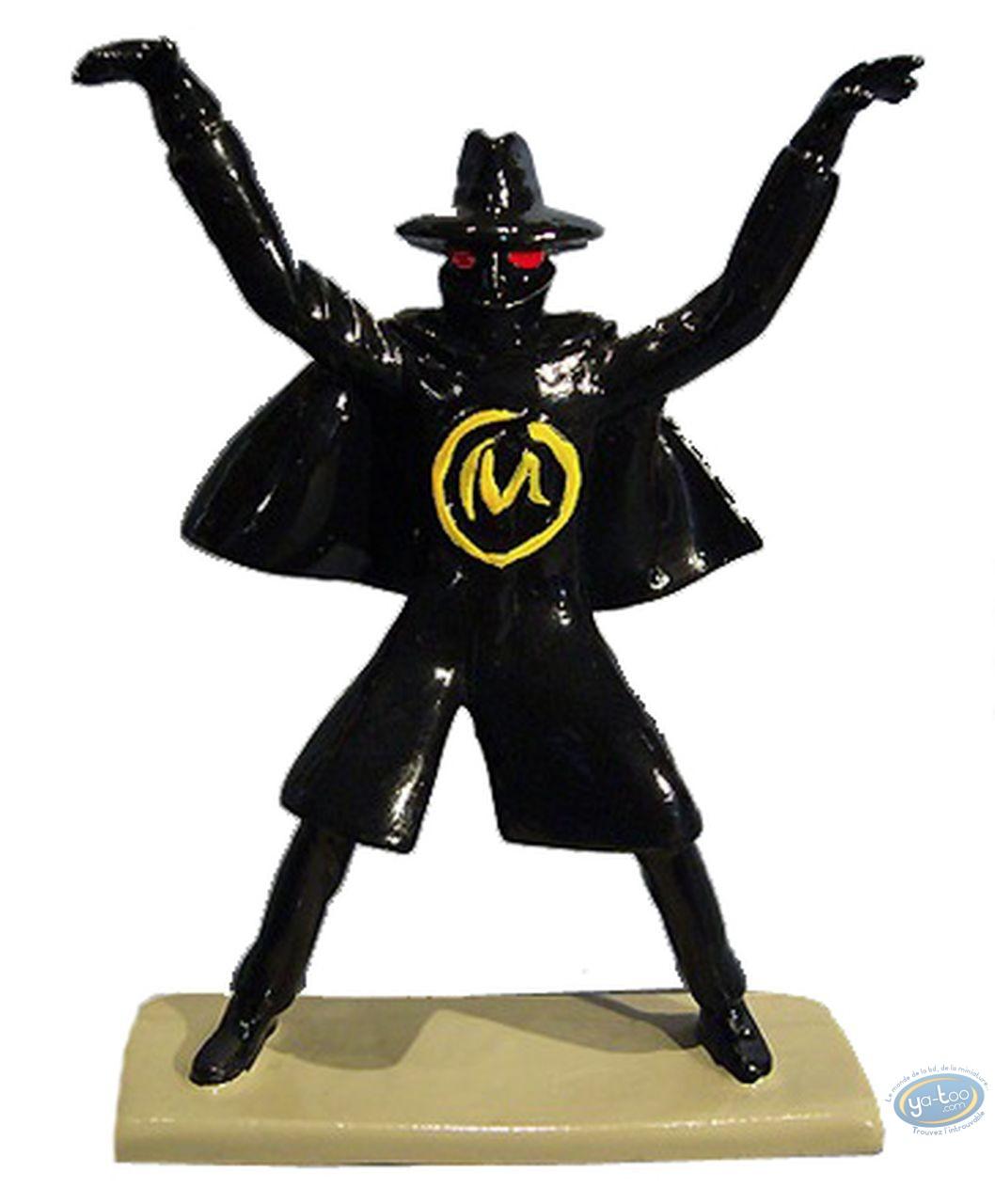 Figurine métal, Blake et Mortimer : Olrik Marque Jaune, Pixi