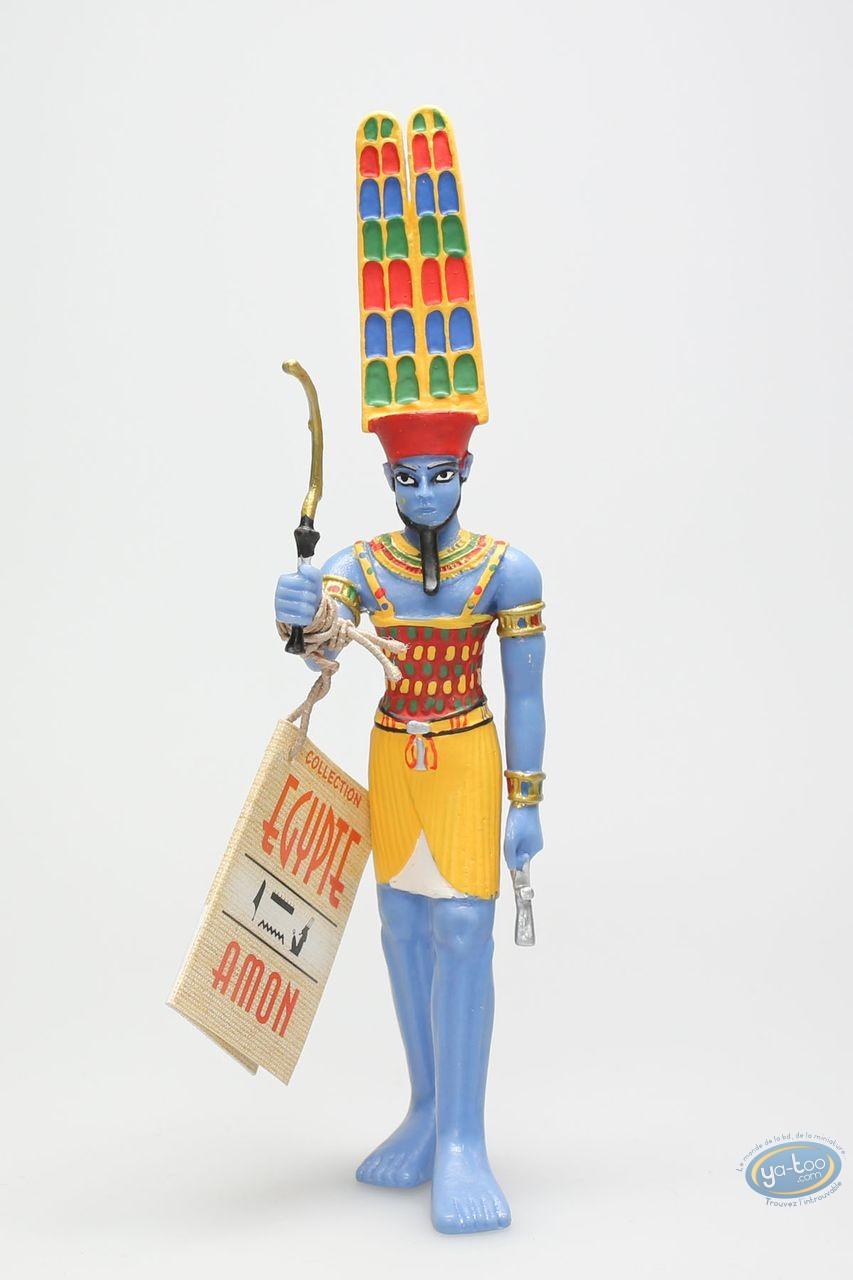 Figurine plastique, Egypte : Amon