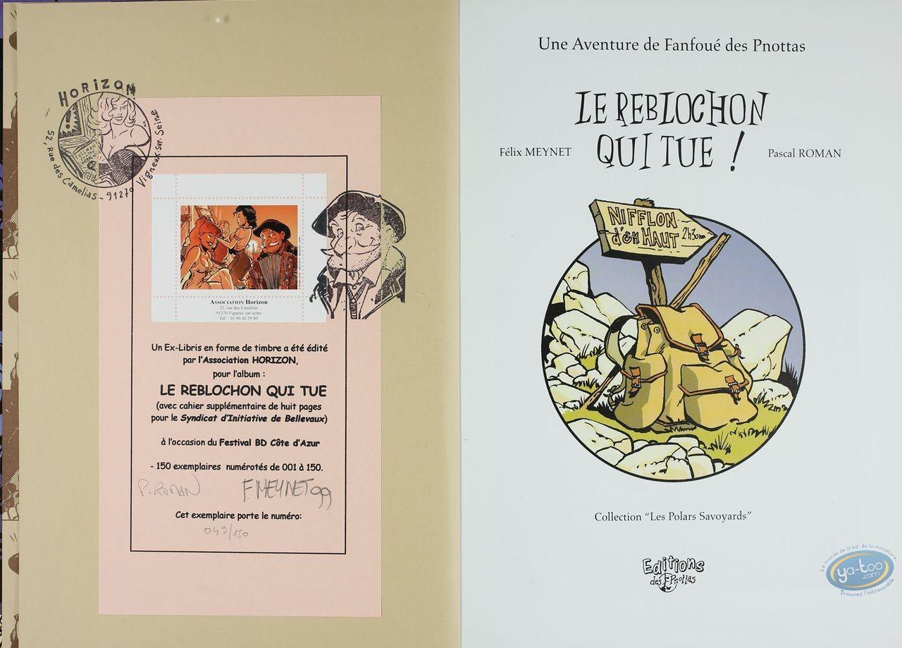 Album de Luxe, Fanfoué : Le Reblochon qui tue
