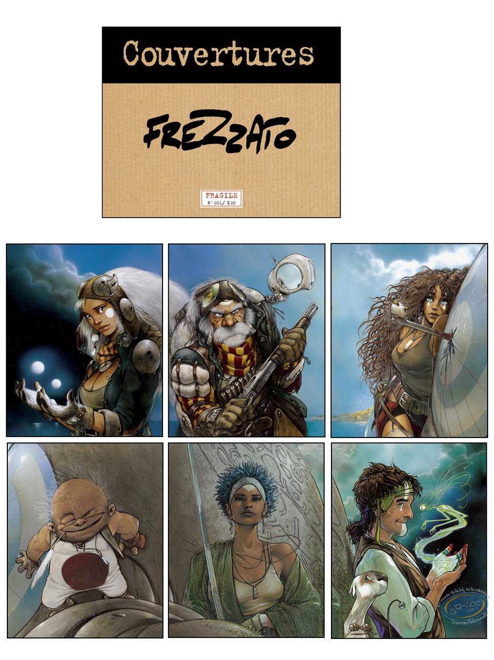 Portfolio, Gardiens du Maser (Les) : Frezzato, couvertures