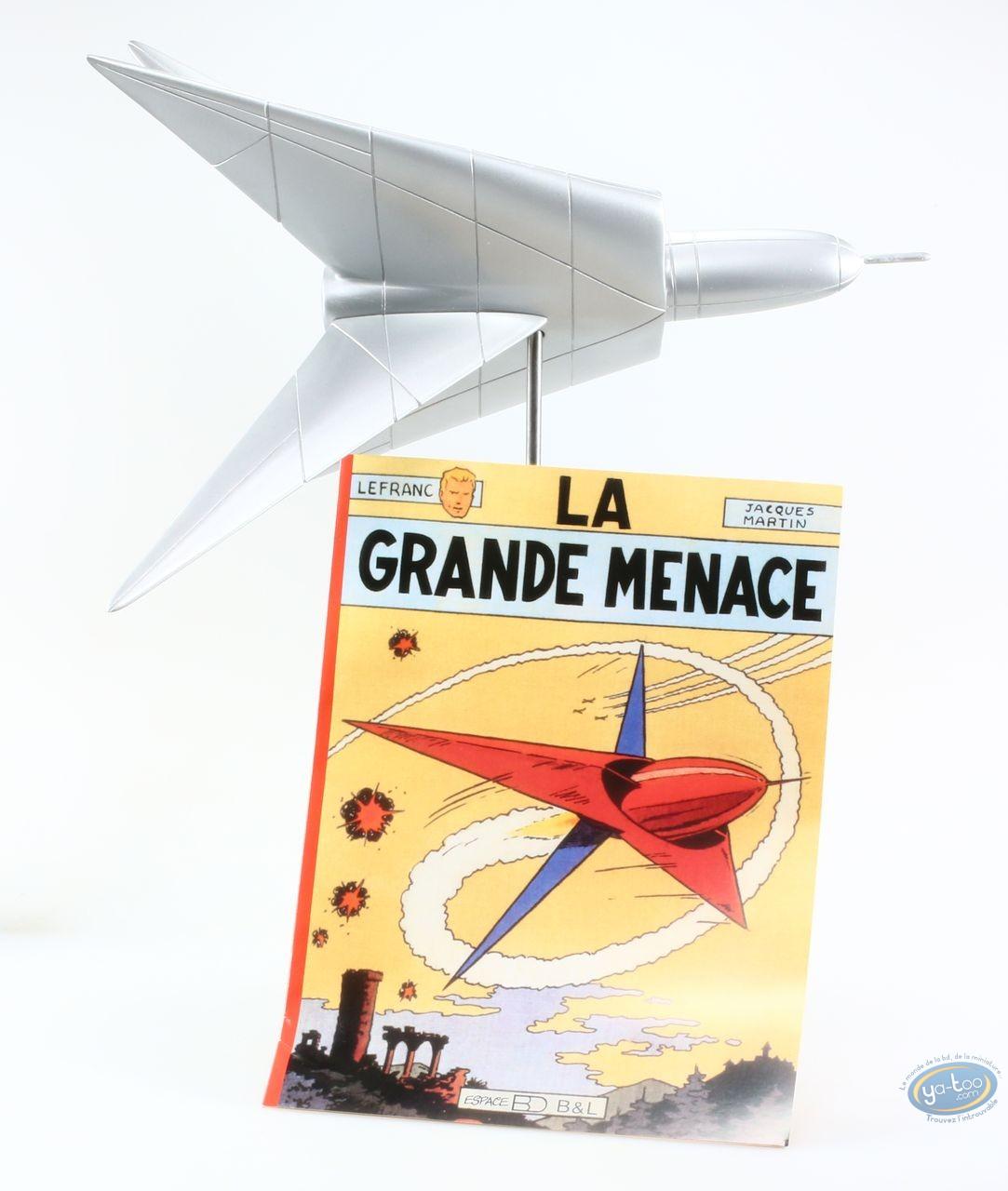Statuette résine, Lefranc : La Grande Menace (monochrome)