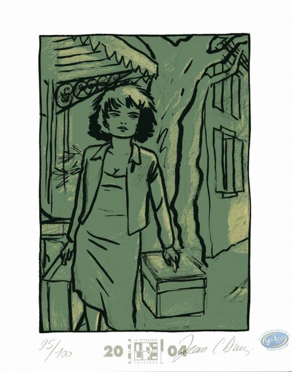 Ex-libris Offset, Beauté à Domicile (La) : Femme à la malette