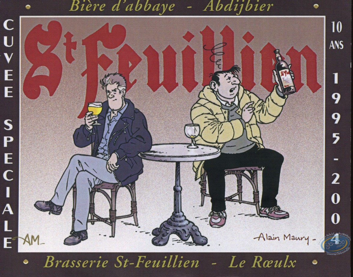 Etiquette de Vin, Beluga : Beluga et bière
