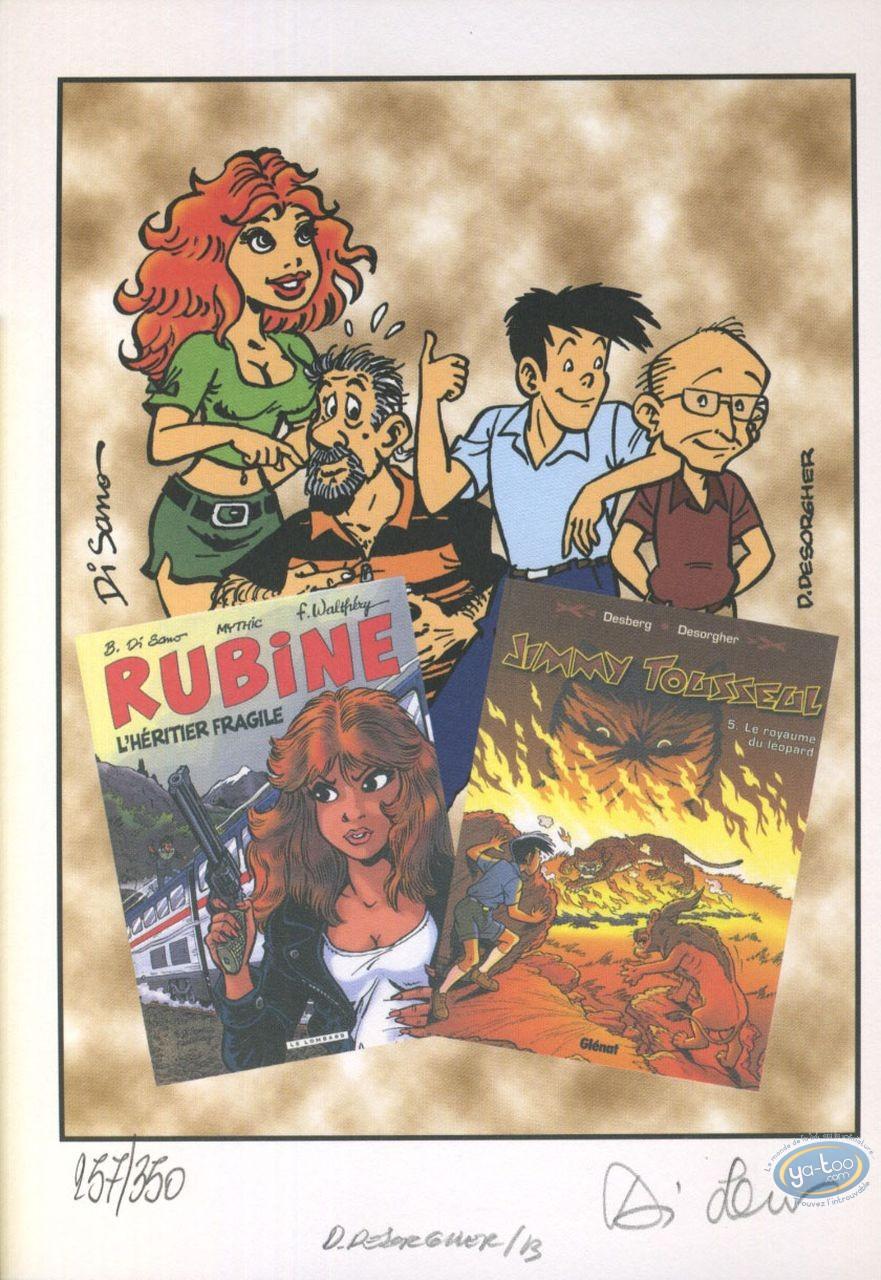 Ex-libris Offset, Rubine : Rubine et Jimmy Tousseul