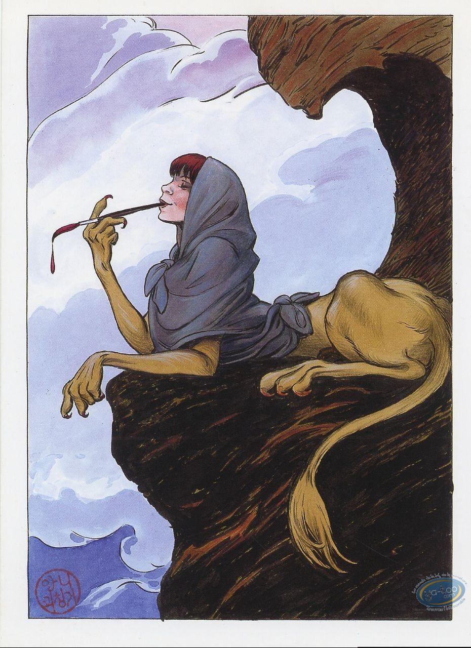 Ex-libris Offset, Agence Hardy : La dessinatrice
