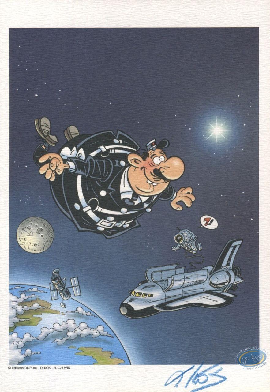 Ex-libris Offset, Agent 212 (L') : Dans l'espace