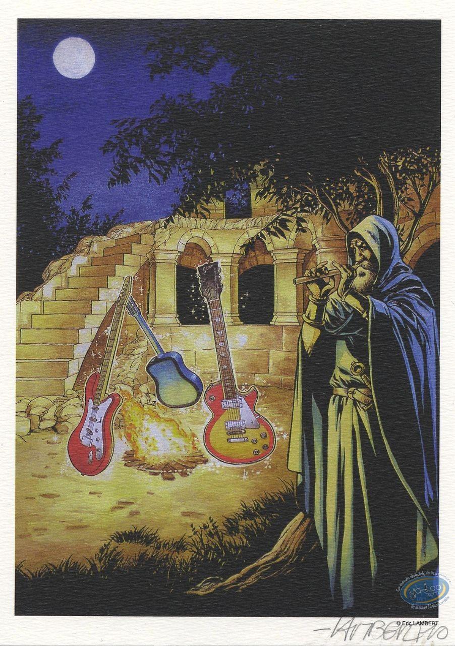 Ex-libris Offset, Merlin : Merlin