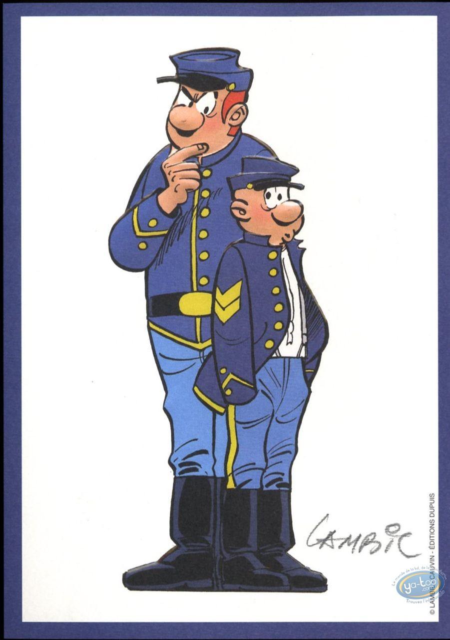 Ex-libris Offset, Tuniques Bleues (Les) : Blutch et Chesterfield