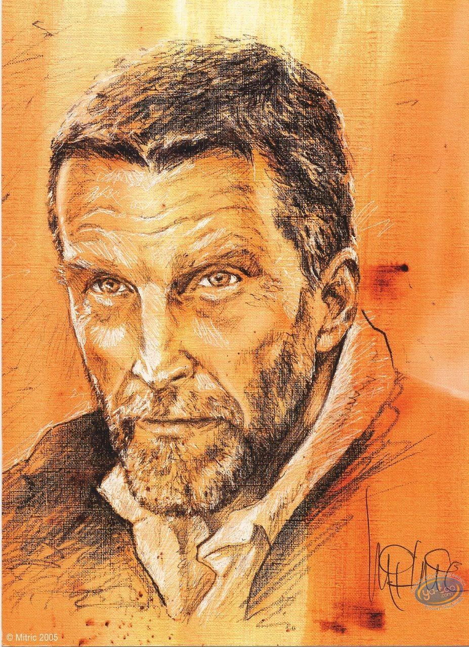 Ex-libris Offset, Kookaburra : Mitric portrait