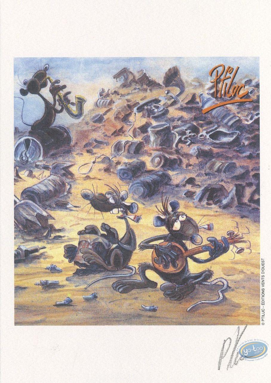 Ex-libris Offset, Pacush Blues - Les rats : L'orchestre