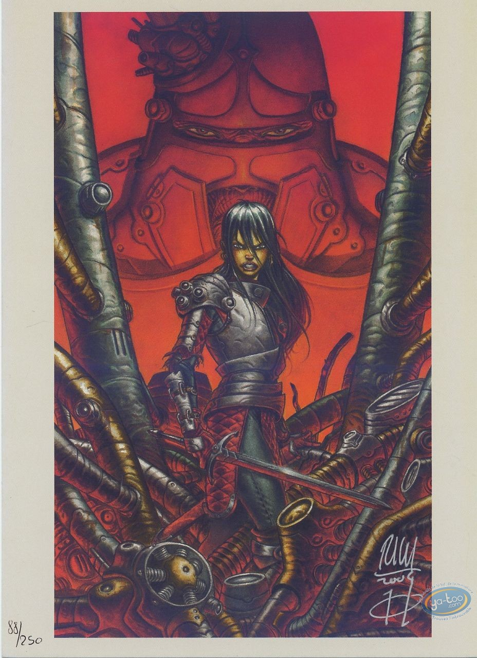 Ex-libris Offset, Ames d'Hélios (Les) : Combat