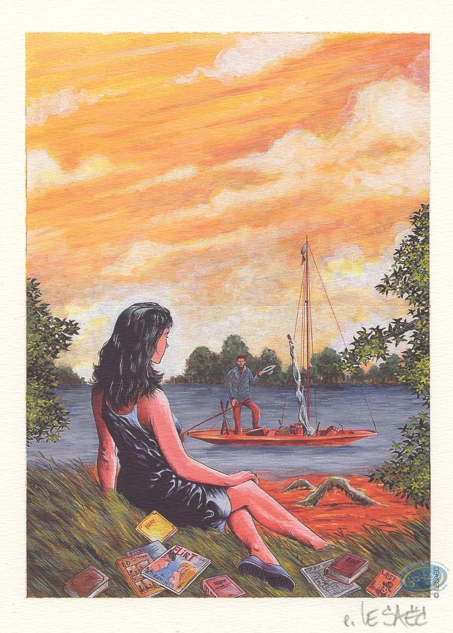 Ex-libris Offset, Mafia Story : Fille au bord de l'eau