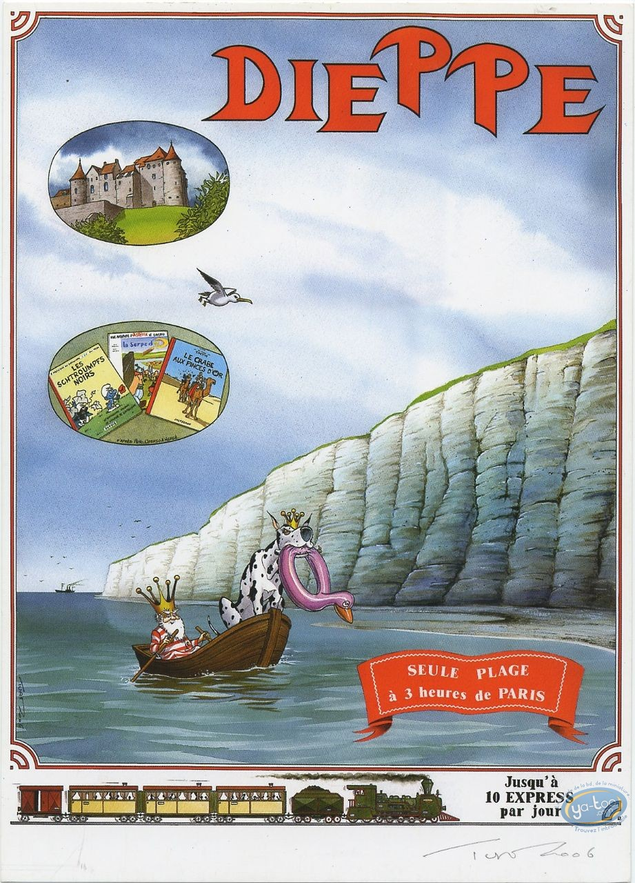 Ex-libris Offset, Nef des Fous (La) : Dieppe