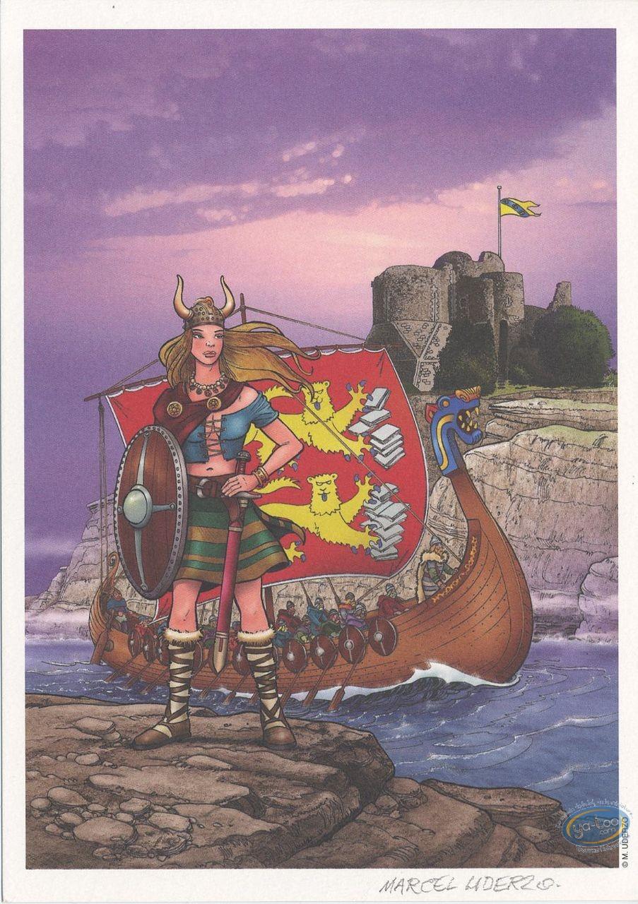 Ex-libris Offset, Histoires et Légendes Normandes : Viking