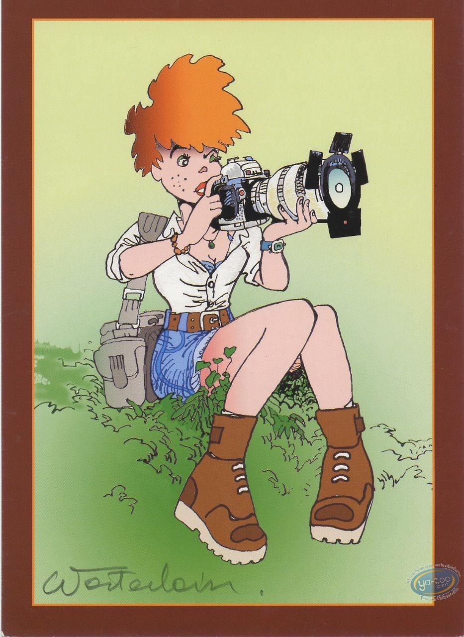 Ex-libris Offset, Jeannette Pointu : Jeannette Pointu assise