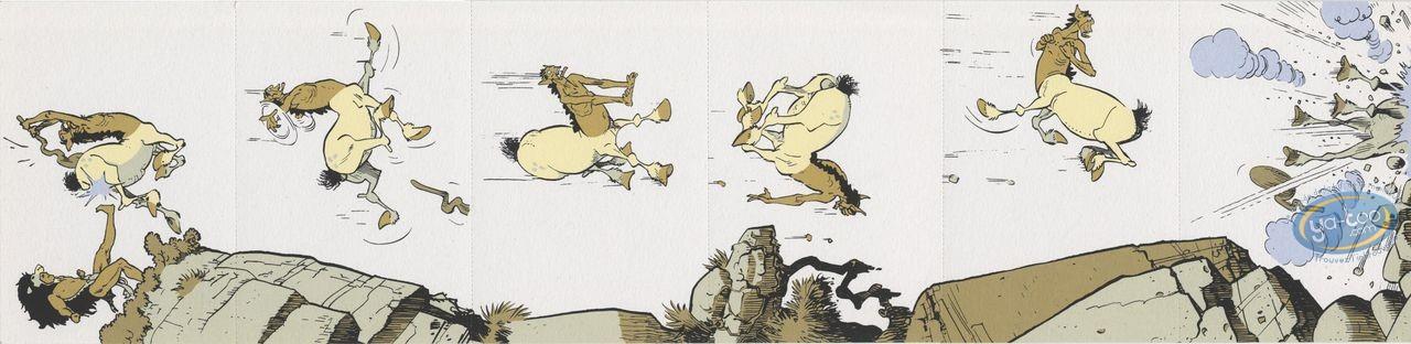 Ex-libris Sérigraphie, Gloire d'Héra (La) : La chute du sagitaire