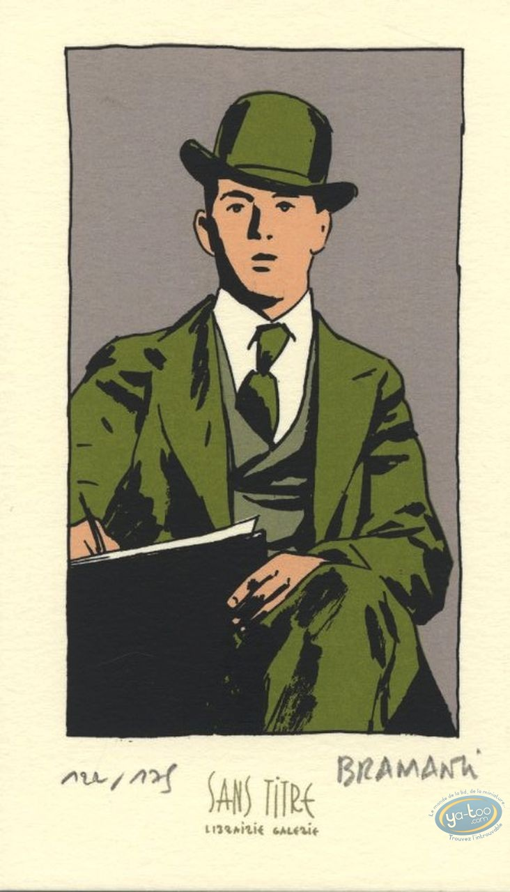 Ex-libris Sérigraphie, Mc Cay : Windsor McCay