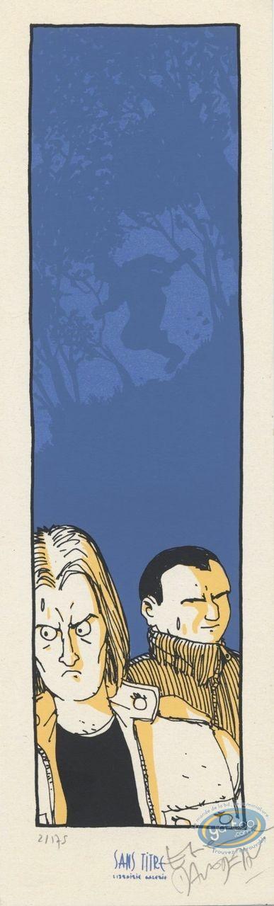 Ex-libris Sérigraphie, Réflexe de Survie (Le) : Sueurs froides