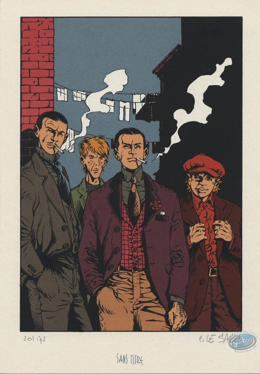 Ex-libris Sérigraphie, Ce qui est à Nous : Le gang