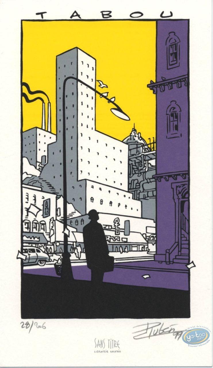 Ex-libris Sérigraphie, Tabou : Tabou