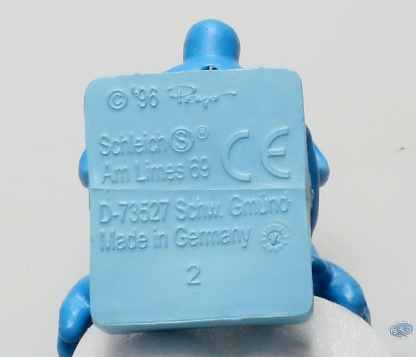 Figurine plastique, Schtroumpfs (Les) : Schtroumpf nageur - 1995 (plongeon)