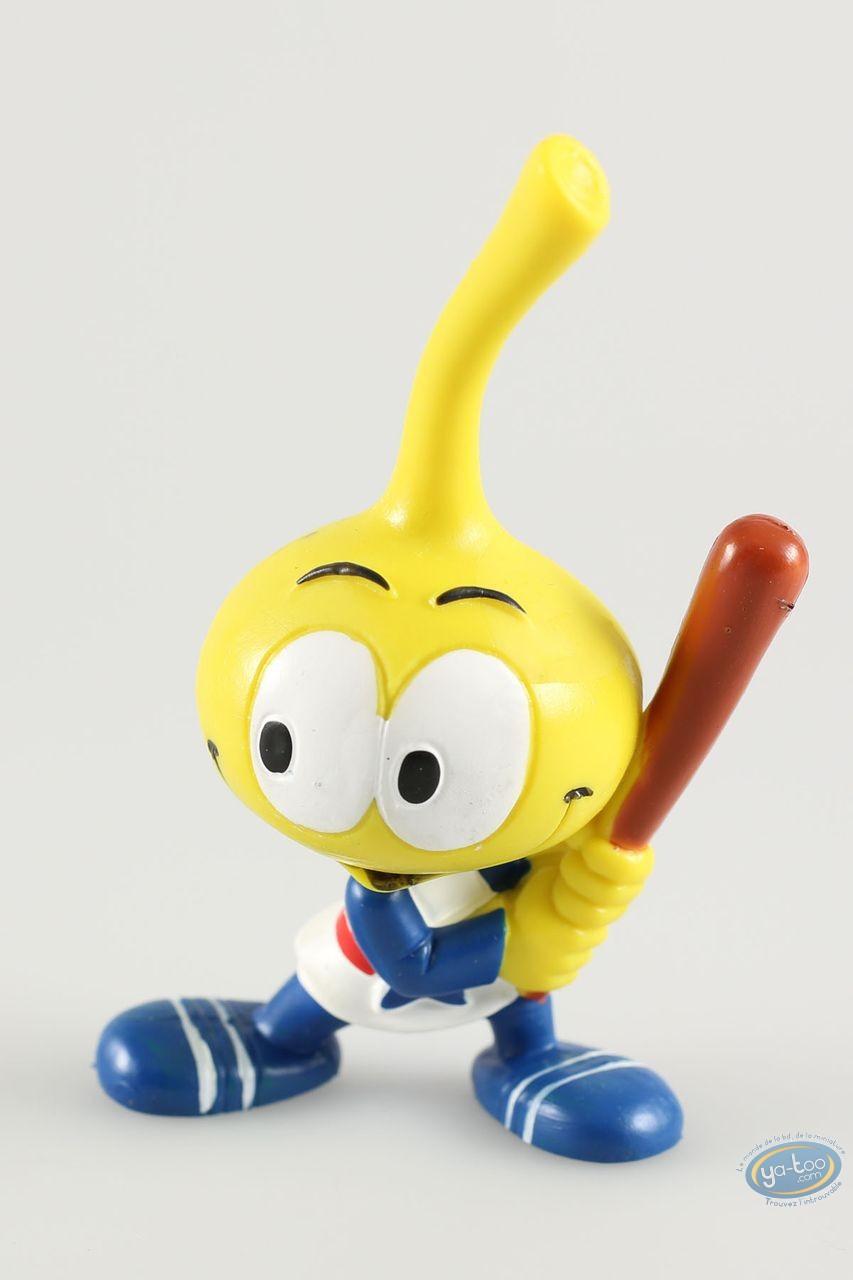 Figurine plastique, Snorkies (Les) : Astral' Snorkie jaune à étoile, joueur de baseball