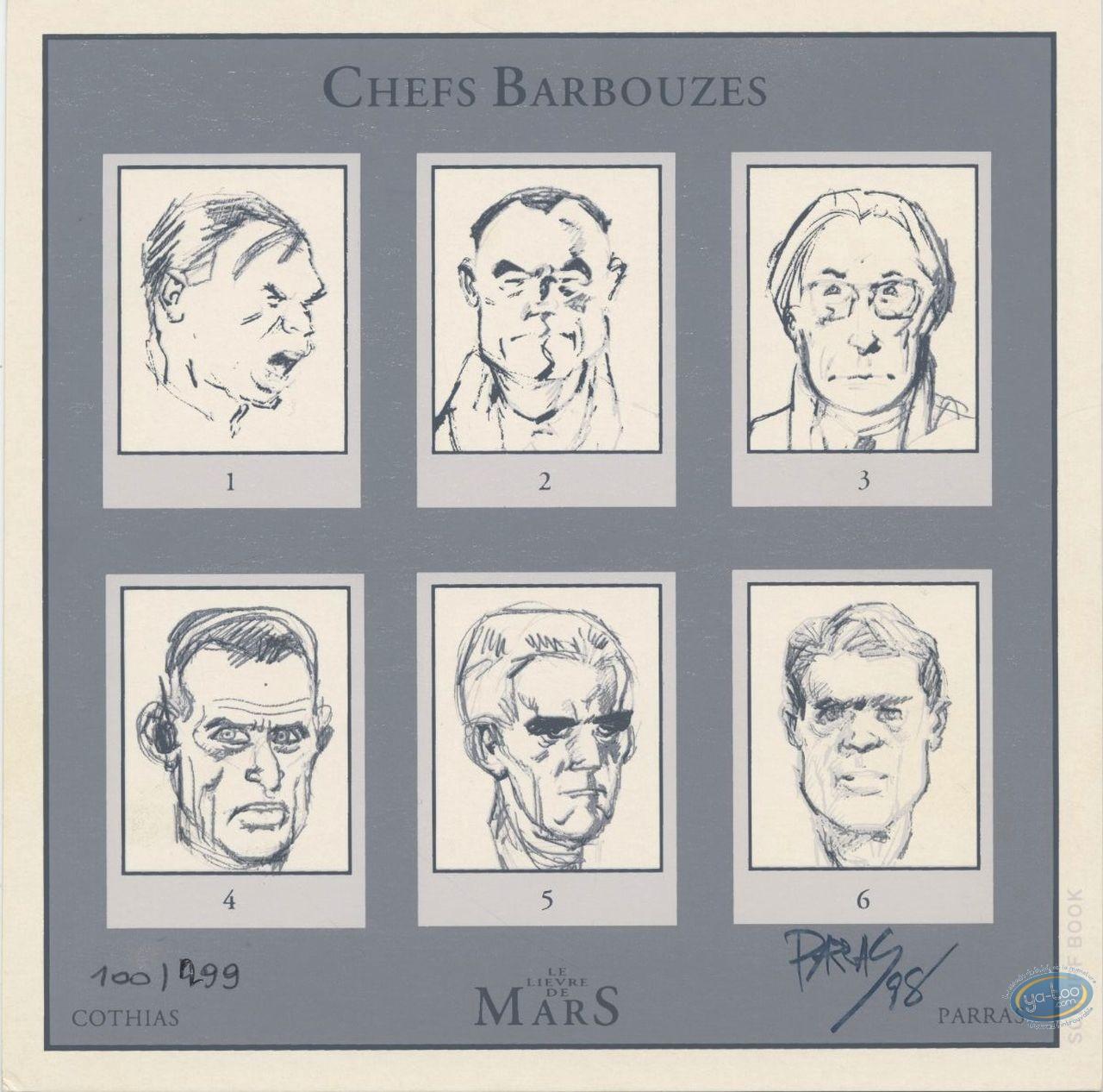 Ex-libris Sérigraphie, Lièvre de Mars (Le) : Chefs Barbouzes