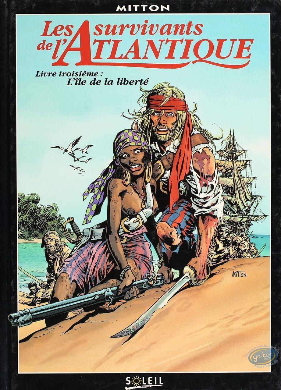 BD cotée, Survivants de l'Atlantique (Les) : Les survivants de l'Atlantique, l'Île de la Liberté