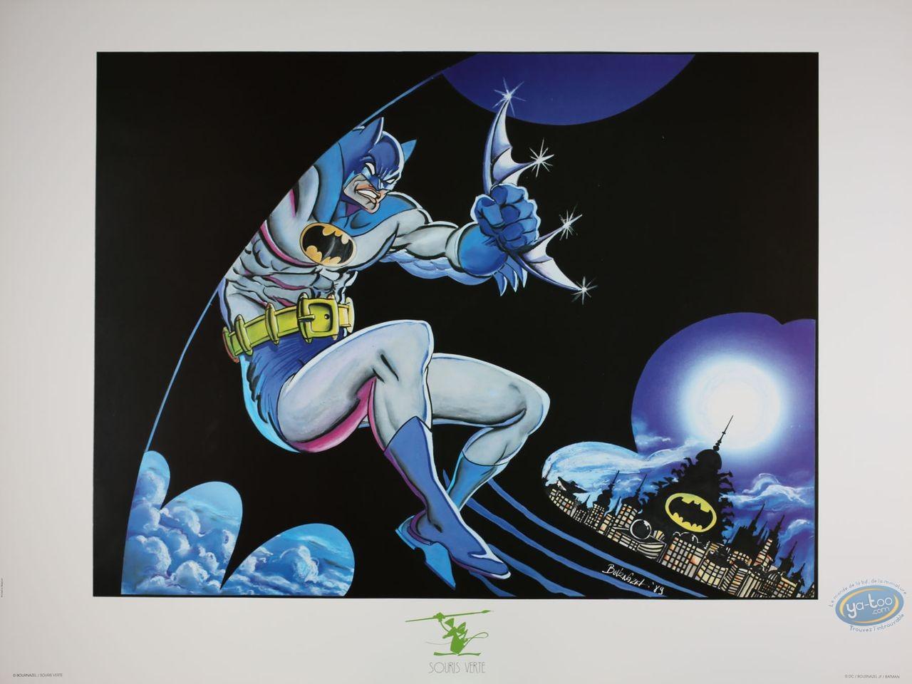 Affiche Offset, Batman : Batman