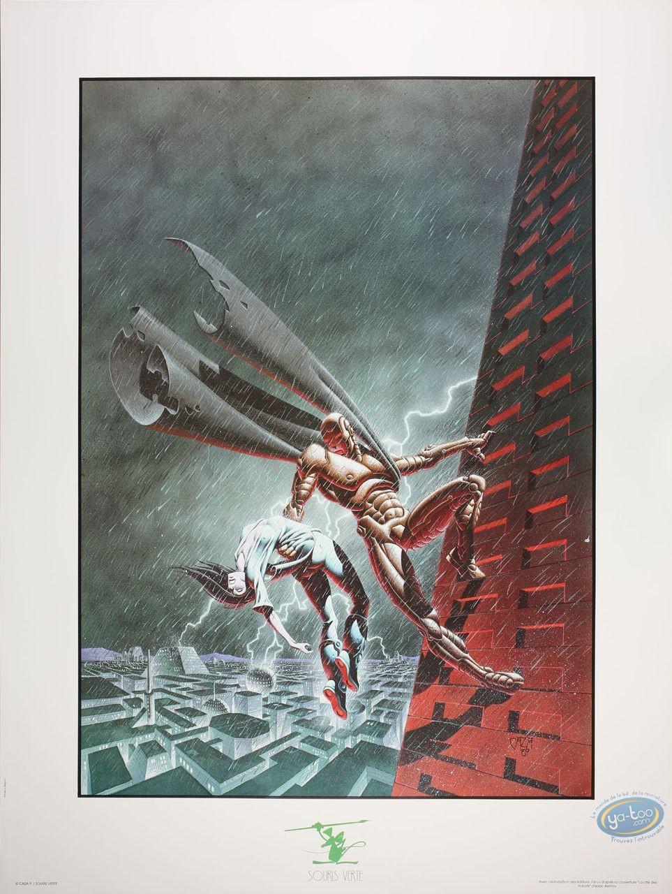Affiche Offset, Cité des Robots (La) : La cité des robots