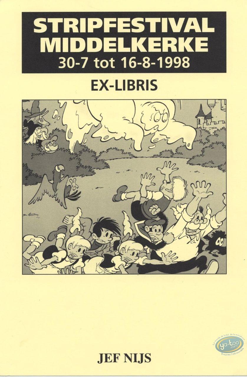Ex-libris Offset, Gil et Jo : Jef Nijs, Gil et Jo et le fantôme