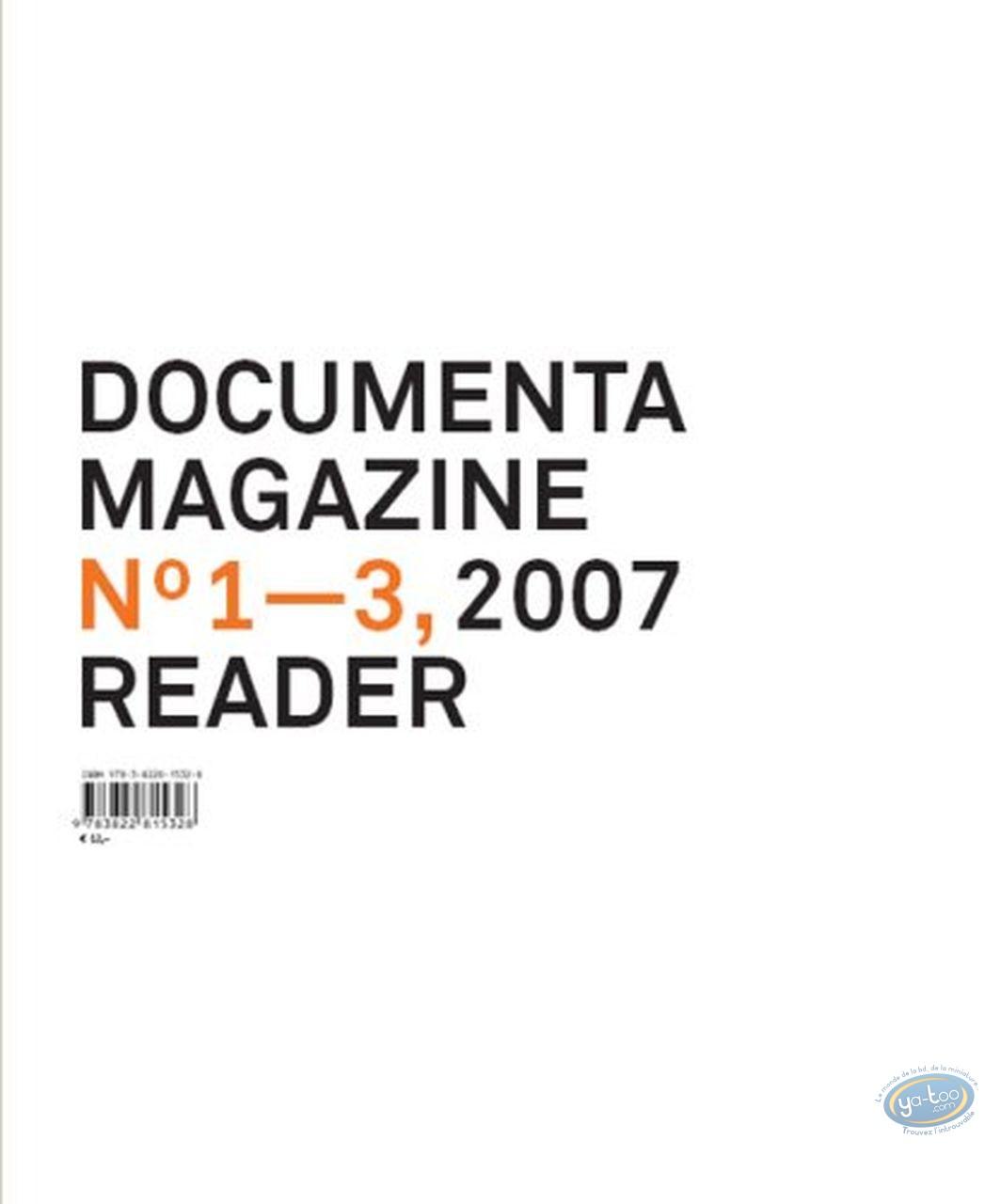 Livre, Documenta 12 magazine, n° 1-3