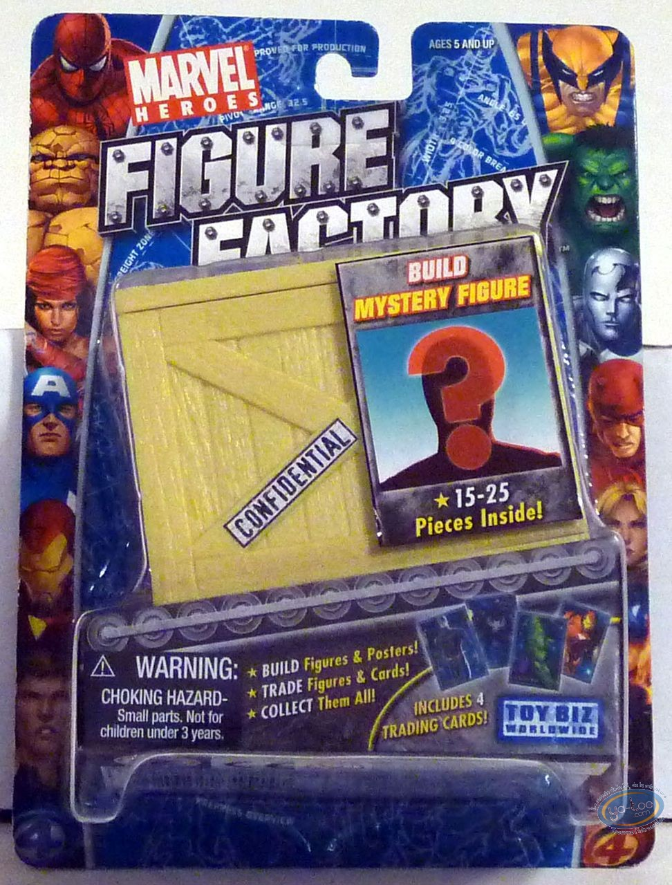 Action Figure, X-Men : Mistery figure