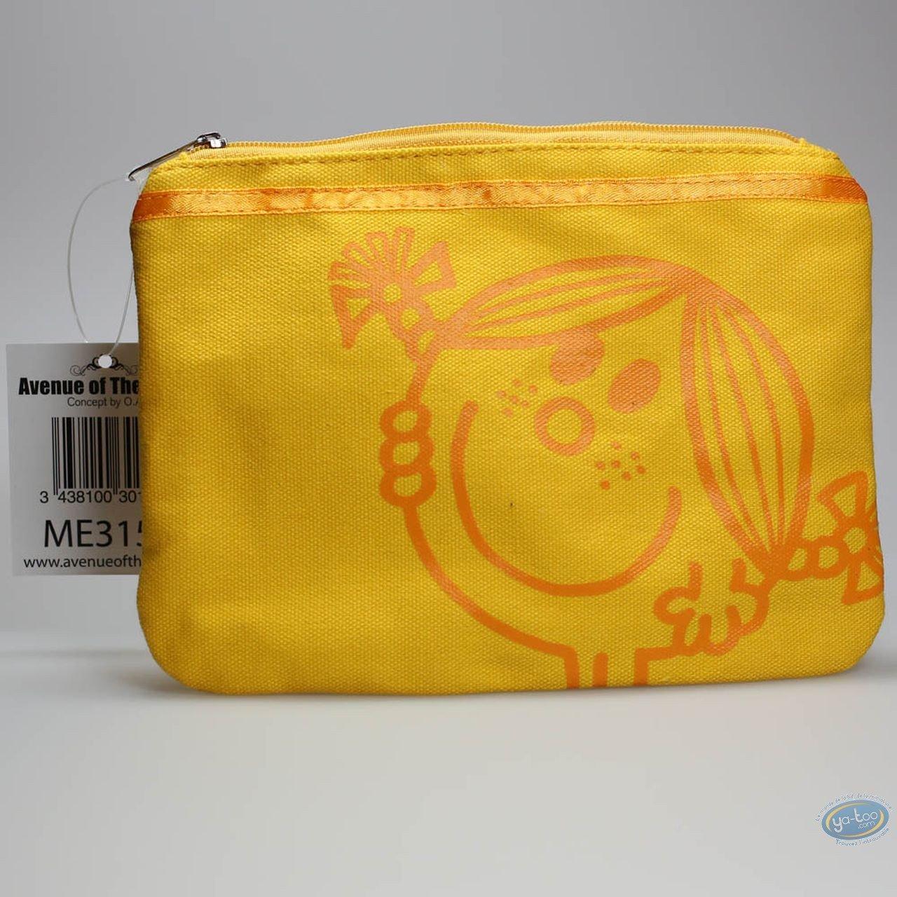 Bagagerie, Monsieur et Madame : Trousse en tissu jaune, Little Miss Sunshine