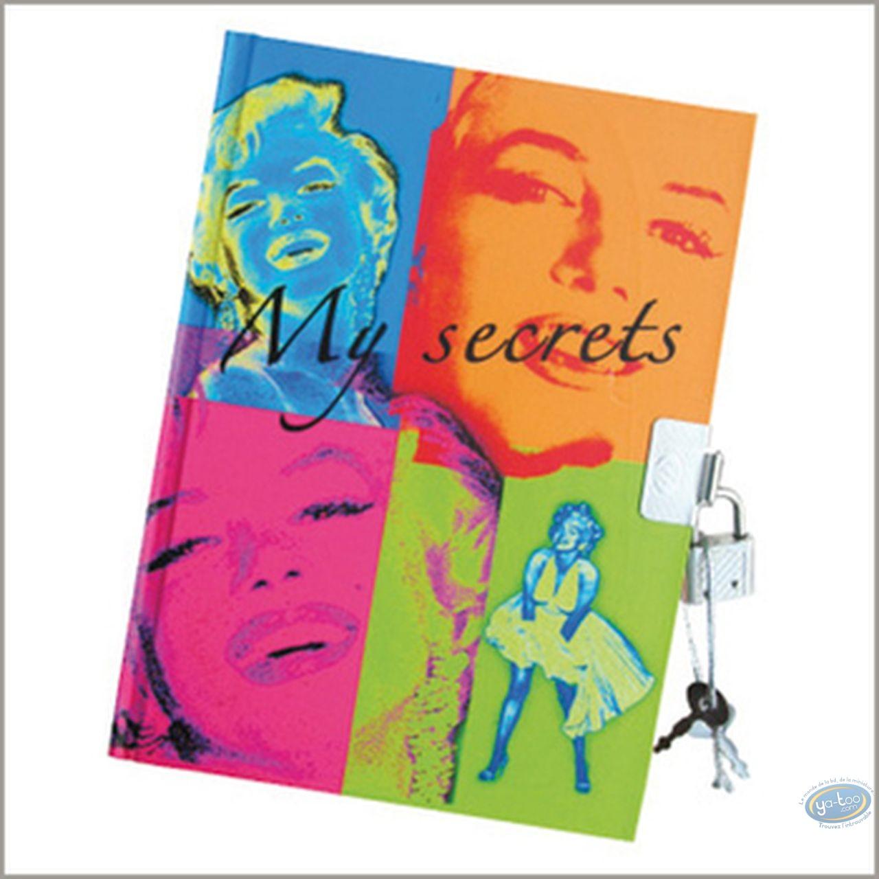 Carnet de notes, Marilyn Monroe : Carnet secret Marilyn Monroe