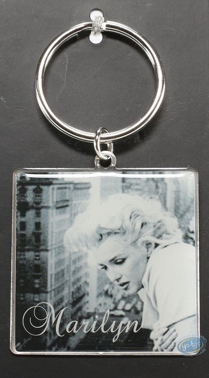 Porte-clé, Marilyn Monroe : Porte-clé métal, Marilyn