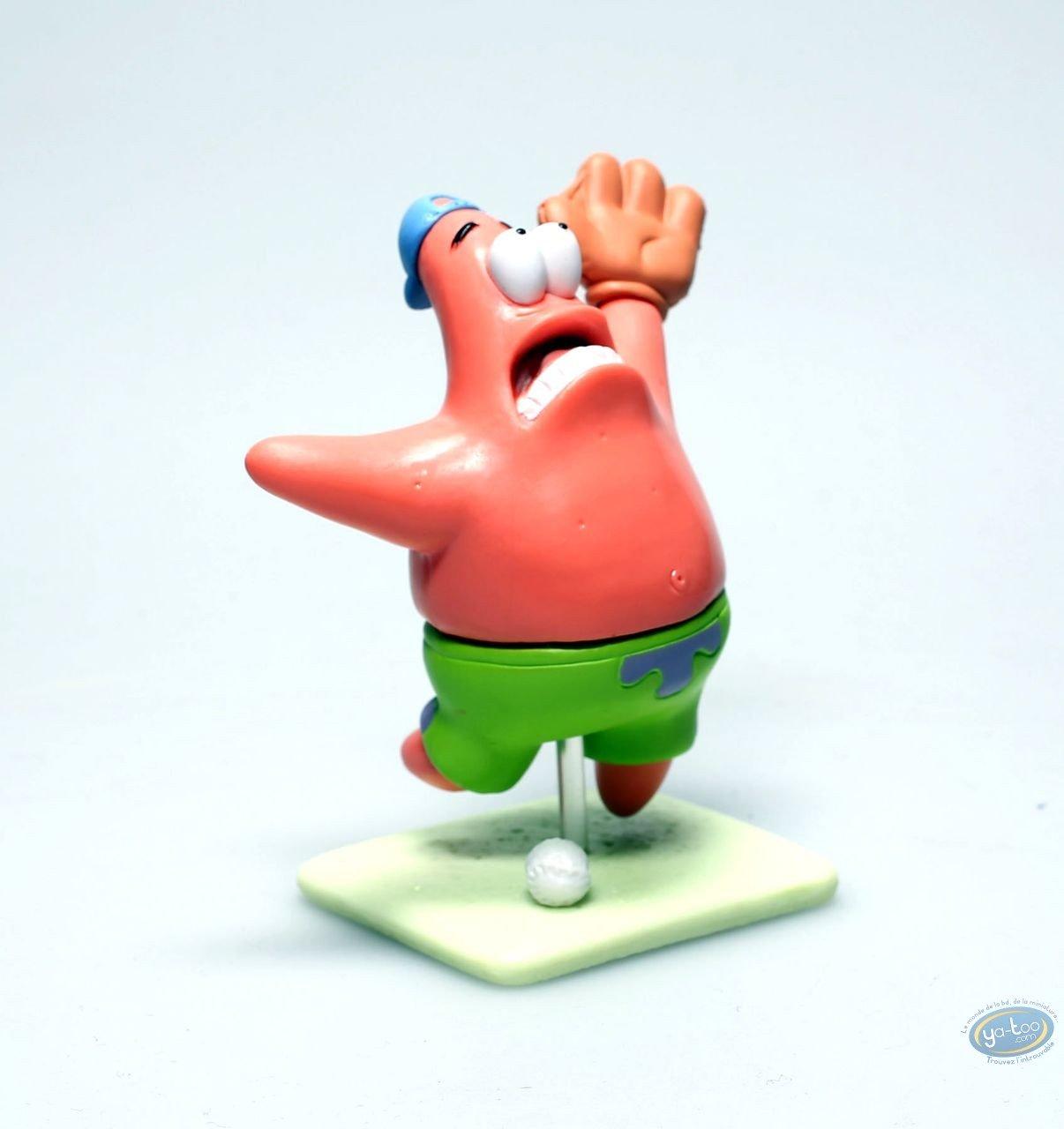 Figurine plastique, Bob l'Eponge : Patrick Base-ball