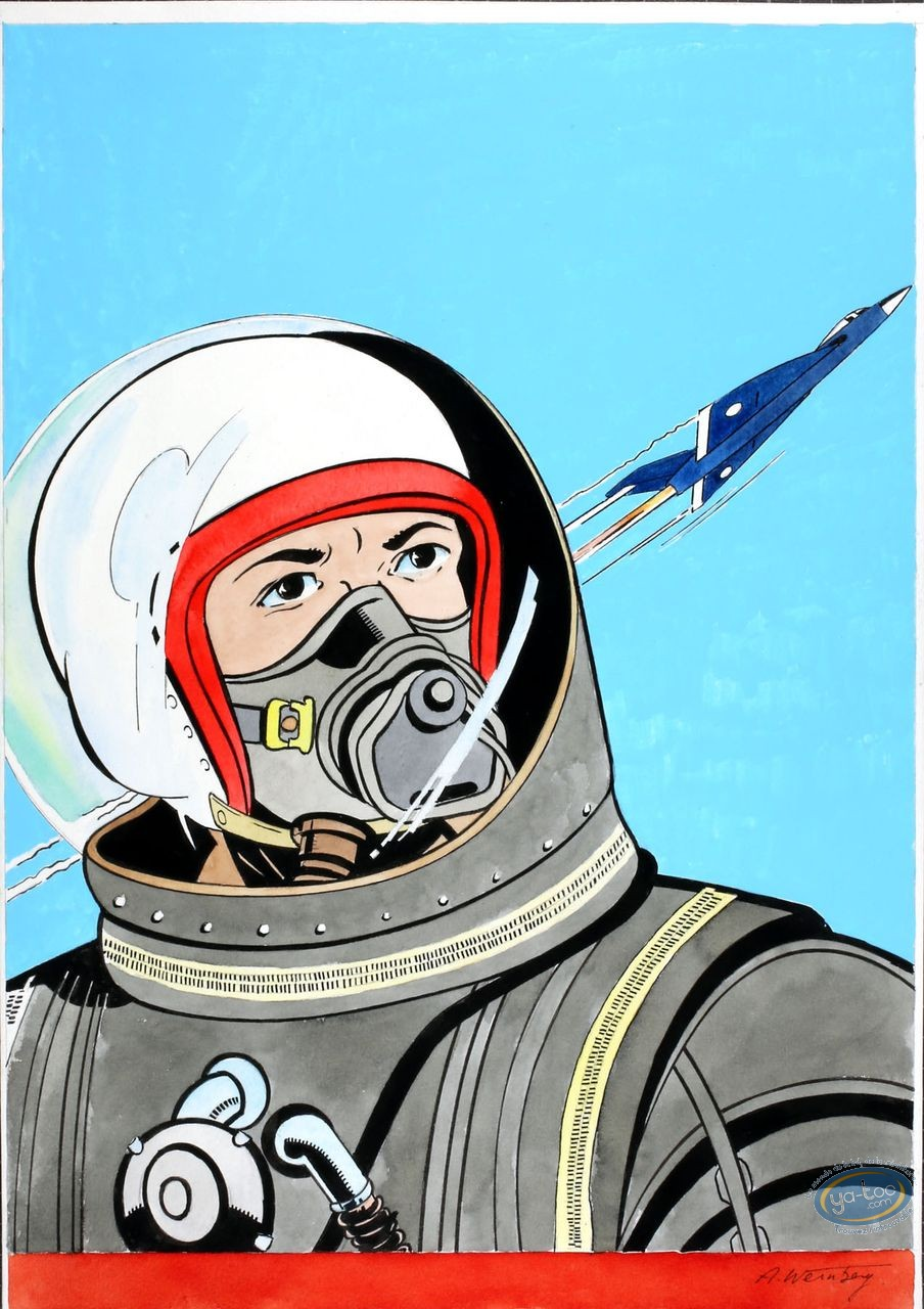 Aquarelle, Dan Cooper : Cosmonaute