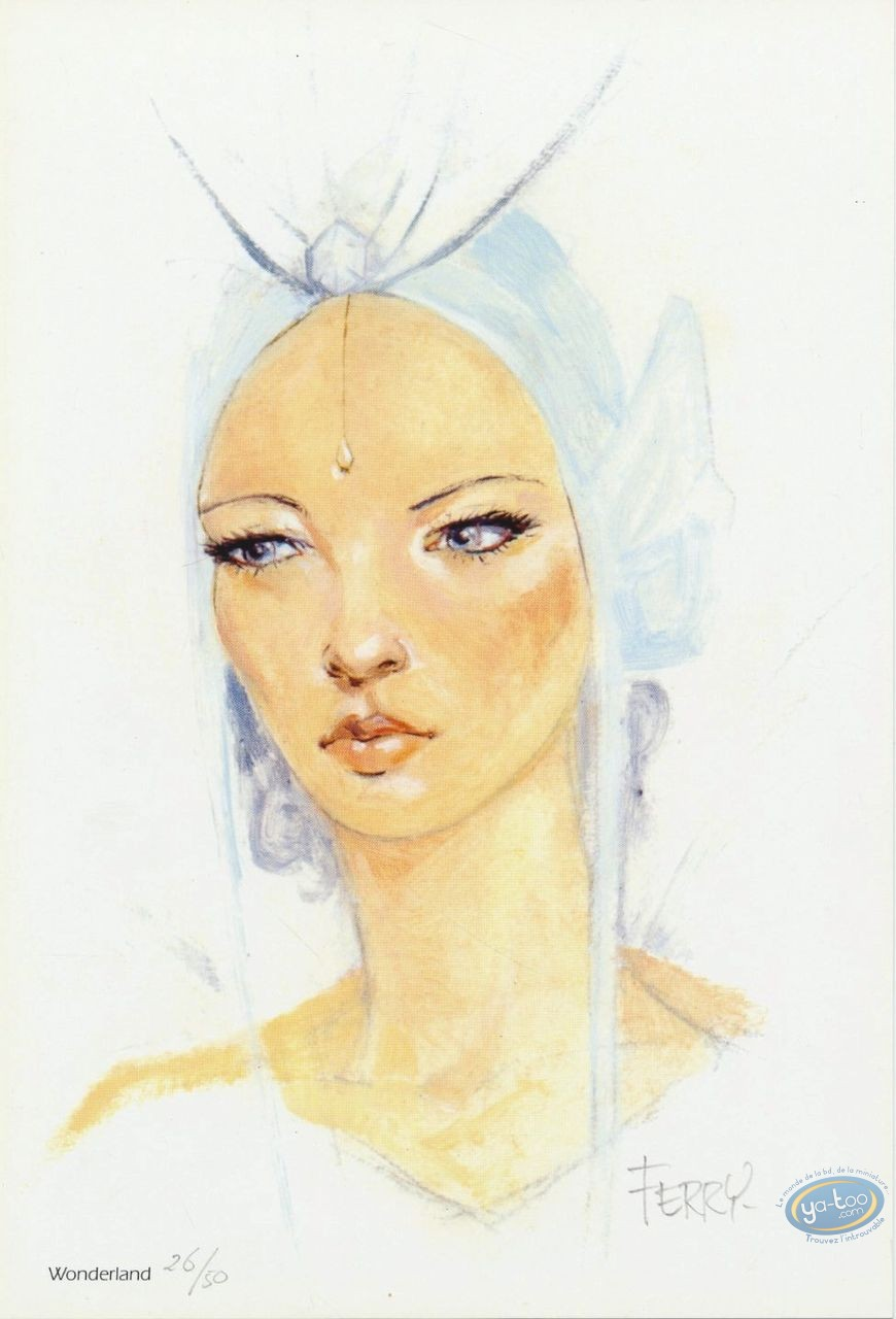 Ex-libris Offset, Ian Kaledine : Princesse