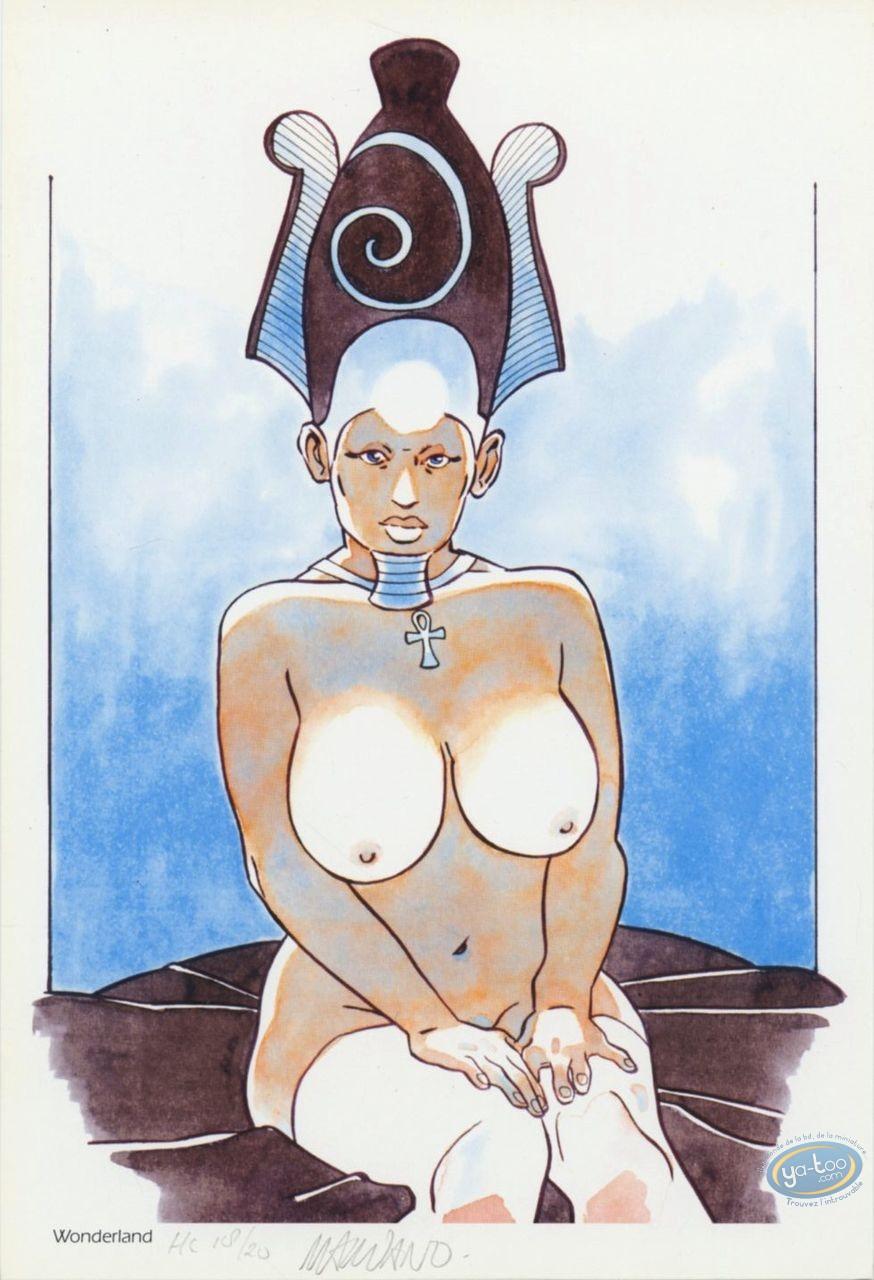 Ex-libris Offset, Guerre Eternelle (La) : Pharaonne nue