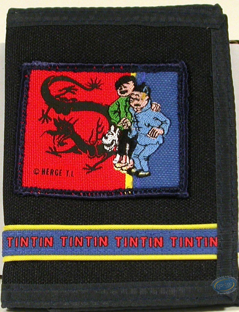 Bagagerie, Tintin : Portefeuille, Tintin et Tchang