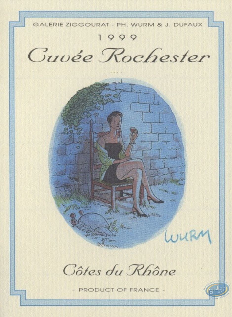 Etiquette de Vin, Rochester (Les) : Cuvée Rochester 1999