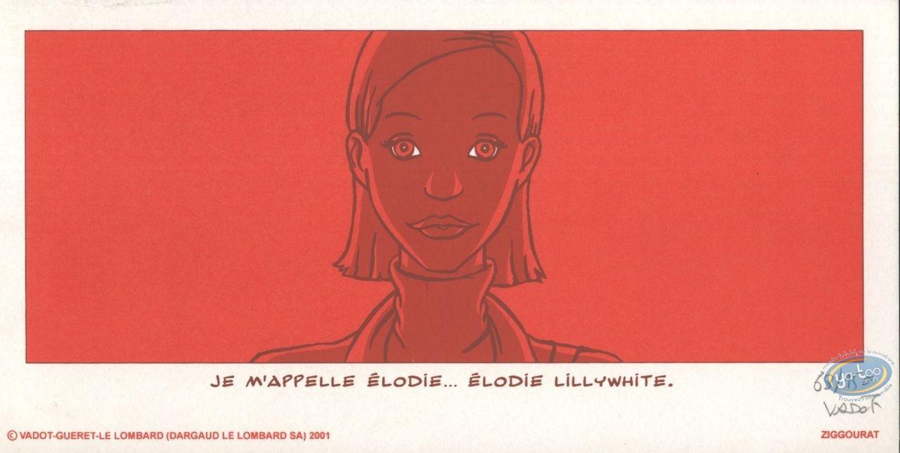 Ex-libris Sérigraphie, Norbert l'Imaginaire : Elodie Lillywhite