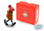 Figurine métal, Gaston Lagaffe : Collection les inventions de Gaston - Le bonnet à nez